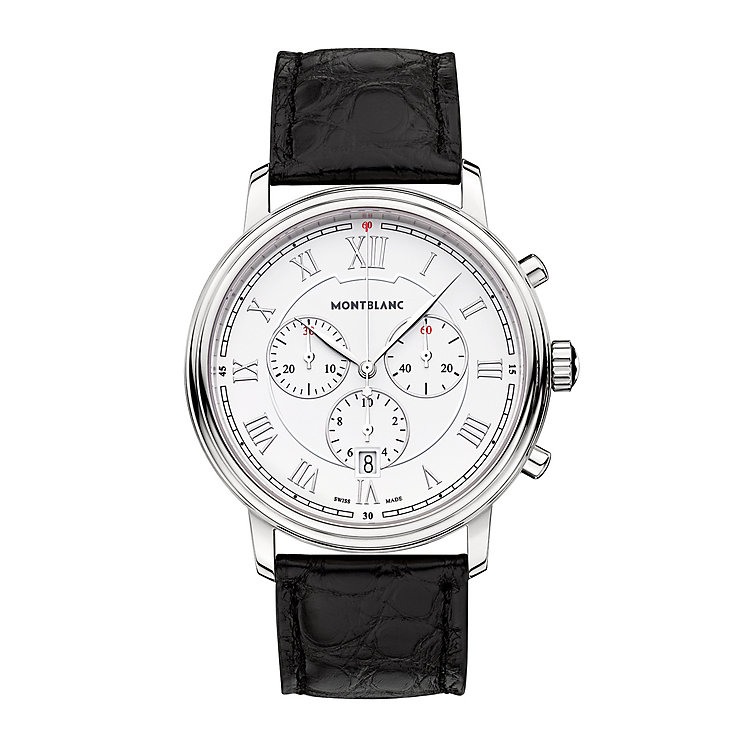 Montblanc Tradition Men's Stainless Steel Strap Watch - Product number 4804023
