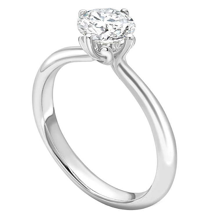 Jan Maarten Asscher 18ct White Gold 0.25ct Diamond Ring - Product number 4804058