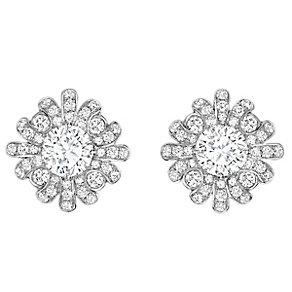 Jan Maarten Asscher 18ct White Gold 1ct Diamond Earrings - Product number 4805224