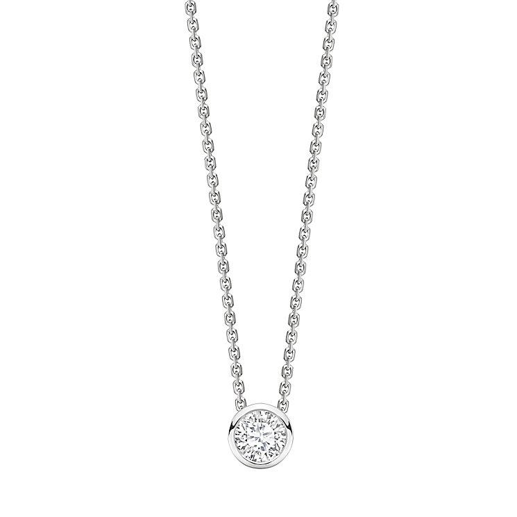 Jan Maarten Asscher 18ct White Gold 0.50ct Diamond Pendant - Product number 4805232