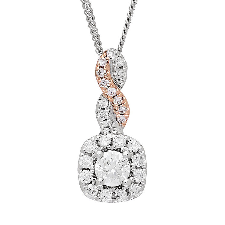 Neil Lane Designs 14ct White Gold 0.23ct Diamond Pendant - Product number 4805259
