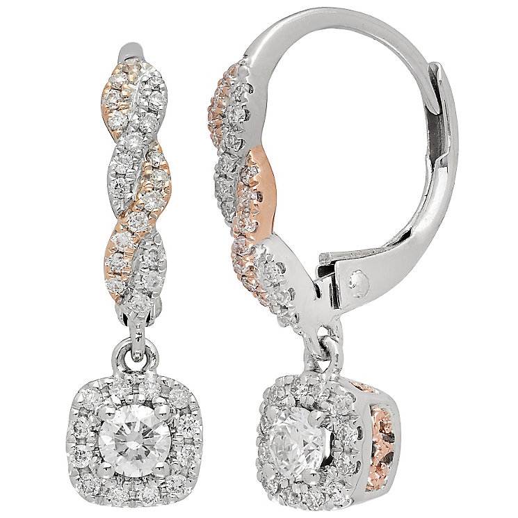 Neil Lane Designs 14ct White Gold 0.37ct Diamond Earrings - Product number 4805267