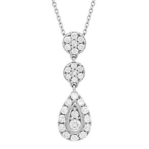 Neil Lane Designs 14ct White Gold 0.37ct Diamond Pendant - Product number 4805291