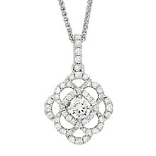 Neil Lane Designs 14ct White Gold 0.52ct Diamond Pendant - Product number 4805356