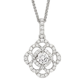 Neil Lane Designs 14ct White Gold Diamond Pendant - Product number 4805356