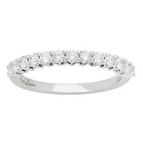 Neil Lane 14ct White Gold 0.50ct 13 Stone Band - Product number 4805364