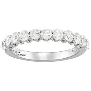 Neil Lane 14ct White Gold 1ct Diamond 11 Stone Band - Product number 4805496