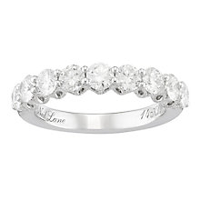 Neil Lane 14ct White Gold 1.50ct Diamond 9 Stone Band - Product number 4805682