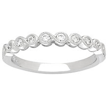 Neil Lane 14ct White Gold Diamond Milgrain Band - Product number 4806107