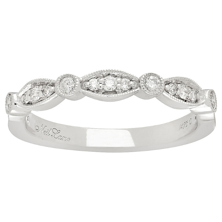 Neil Lane 14ct White Gold 0.23ct Diamond Band - Product number 4806247