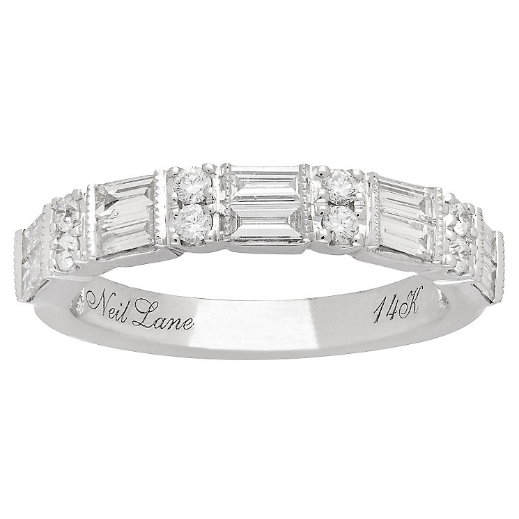 Neil Lane 14ct White Gold 0.69ct Diamond Band - Product number 4806425