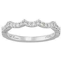 Neil Lane 14ct White Gold 0.29ct Diamond Shaped Band - Product number 4806980