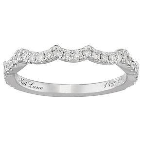 Neil Lane 14ct White Gold Diamond Shaped Band - Product number 4806980