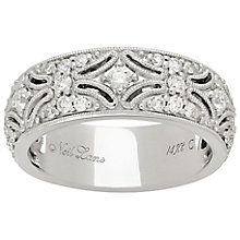 Neil Lane Designs 14ct White Gold 0.58ct Diamond Band - Product number 4809009