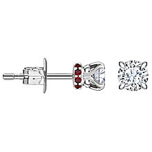 Jan Maarten Asscher 18ct White Gold 0.50ct Diamond Earrings - Product number 4811267
