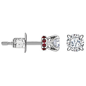Jan Maarten Asscher 18ct White Gold 50pt Diamond Earrings - Product number 4811267