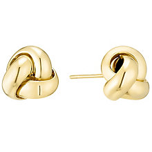 14ct Yellow Gold Knot Stud Earings - Product number 4811356