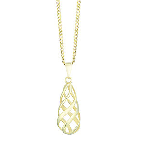 9ct Yellow Gold Pendant - Product number 4811631