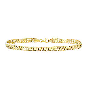 9ct Yellow Gold Rounded Bracelet - Product number 4811917