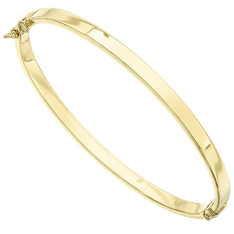 14ct Yellow Gold Slim Bangle - Product number 4811925