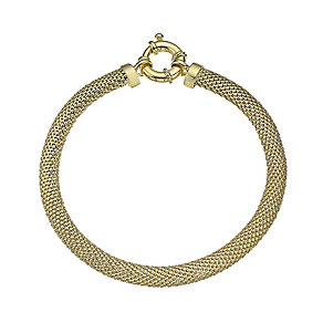 9ct Yellow Gold 5mm Bracelet - Product number 4811984
