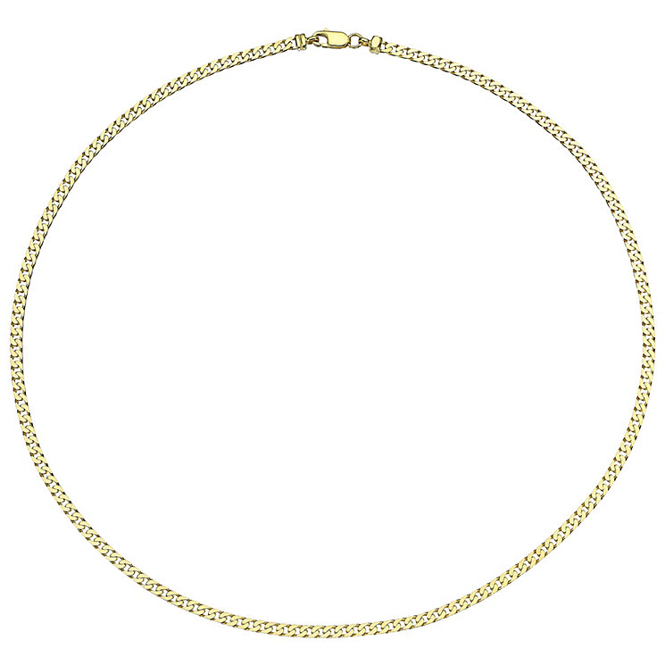 9ct Yellow Gold Heavy Curb Chain - Product number 4812522