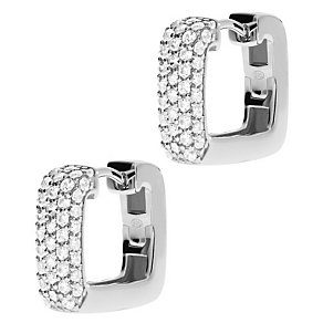 Emporio Armani Silver Stone Set Earrings - Product number 4813065