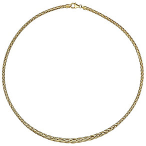 14ct Yellow Gold Spiga Necklet - Product number 4813073