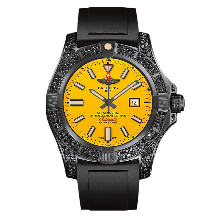 Breitling Avenger Blackbird Men's Ion Plated Strap Watch - Product number 4813243