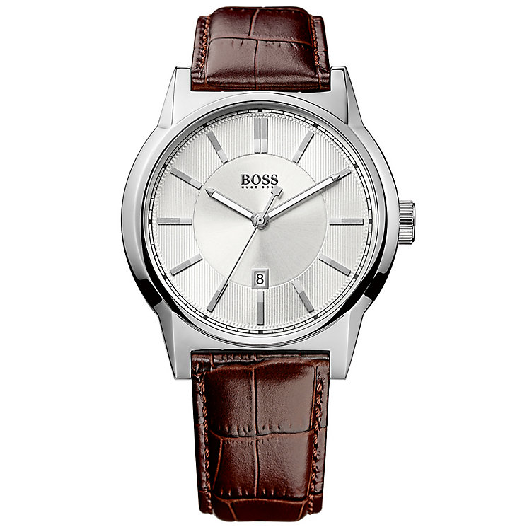 Hugo Boss Men's Stainless Steel Strap Watch - Product number 4813294