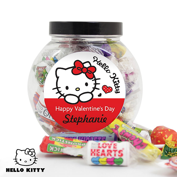 Personalised Hello Kitty I Love You Sweets Jar - Product number 4816862