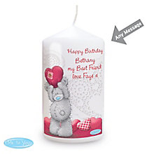 Personalised Me To You Heart Candle - Product number 4816900