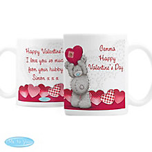 Personalised Me To You Heart Mug - Product number 4816919