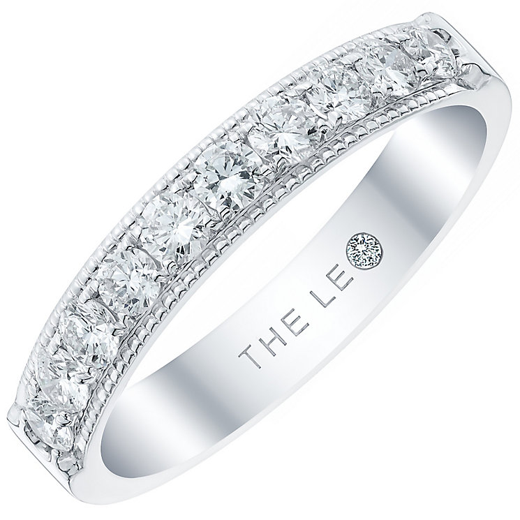 Leo Diamond Ladies' 18ct White Gold 0.50ct Diamond Band - Product number 4820967