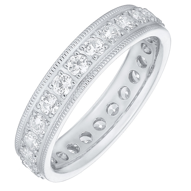 18ct White Gold 1.00ct Diamond Eternity Ring - Product number 4829832