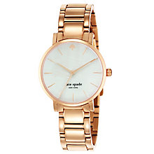 Kate Spade Gramercy Ladies' Rose Gold Tone Bracelet Watch - Product number 4830016