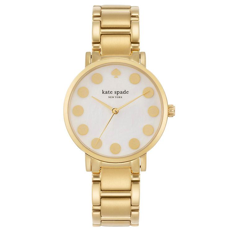 Kate Spade Gramercy Ladies' Gold Tone Bracelet Watch - Product number 4830067