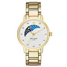 Kate Spade Gramercy Ladies' Gold Tone Bracelet Watch - Product number 4830156