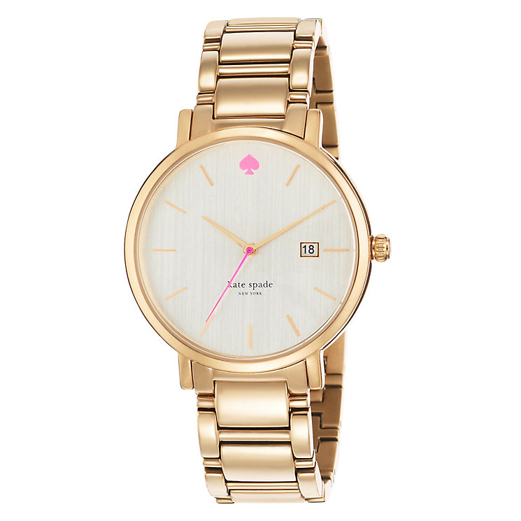 Kate Spade Ladies' Rose Gold Tone Bracelet Watch - Product number 4830202