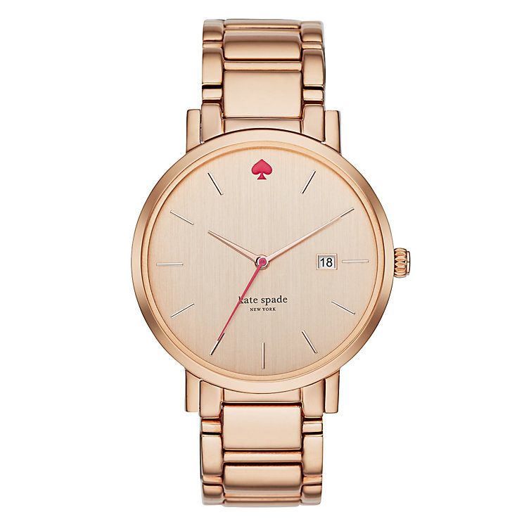Kate Spade Ladies' Rose Gold Tone Bracelet Watch - Product number 4830229