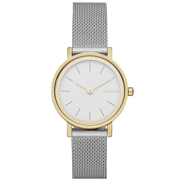 Skagen Ladies' Two Colour Bracelet Watch - Product number 4830431