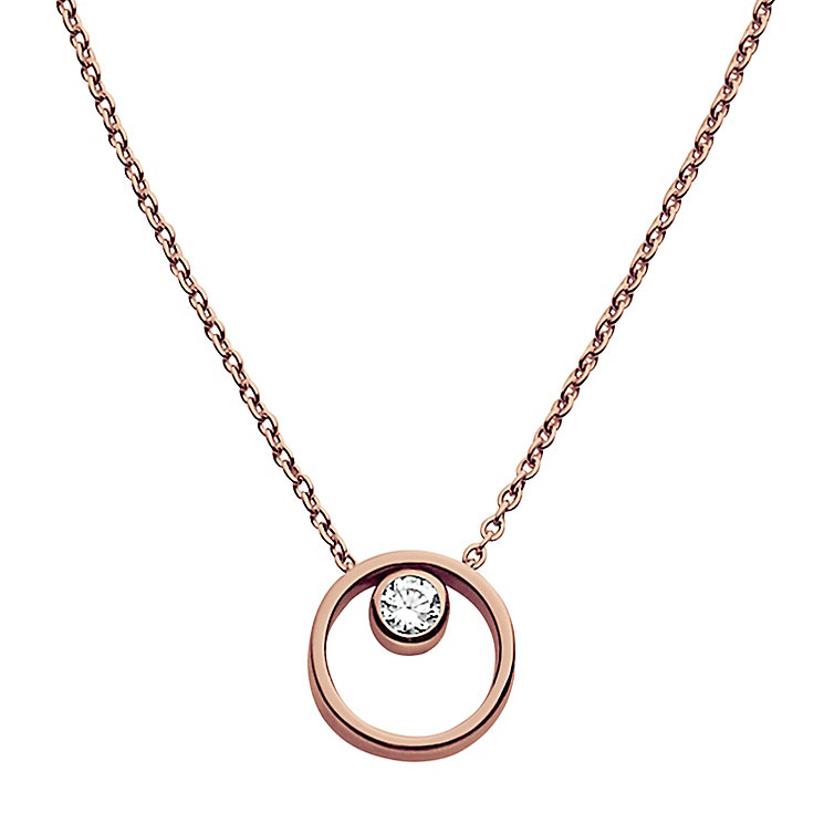 Skagen Rose Gold Tone Necklace - Product number 4830733