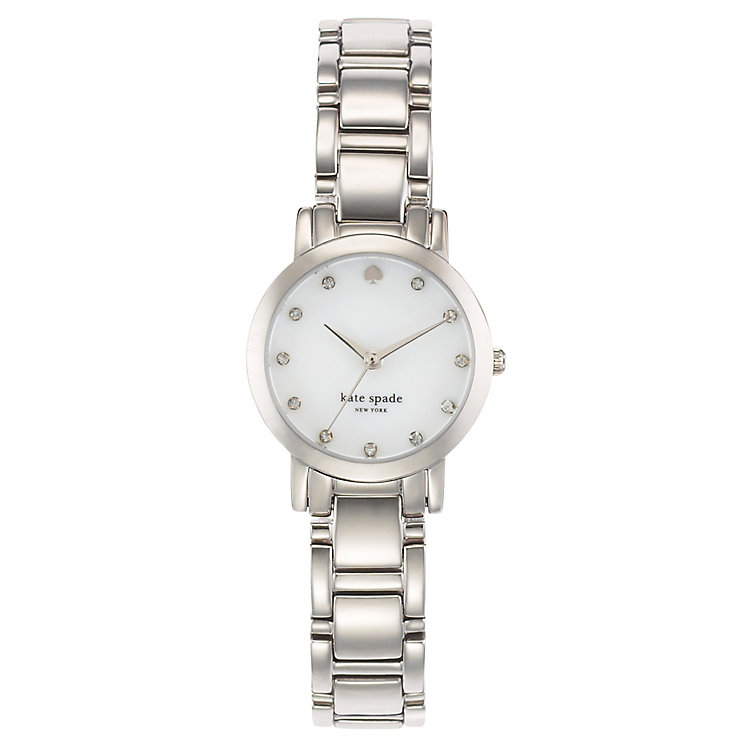 Kate Spade Ladies' Stainless Steel Stone Set Bracelet Watch - Product number 4831551