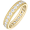 18ct Yellow Gold 1.00ct Diamond Brilliant Cut Eternity Ring - Product number 4831594