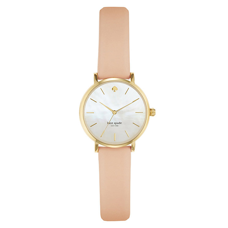 Kate Spade Metro Ladies' Gold Tone Strap Watch - Product number 4832388