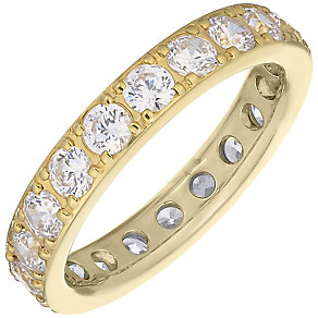 18ct Yellow Gold 1.50ct Diamond Eternity Ring - Product number 4832396