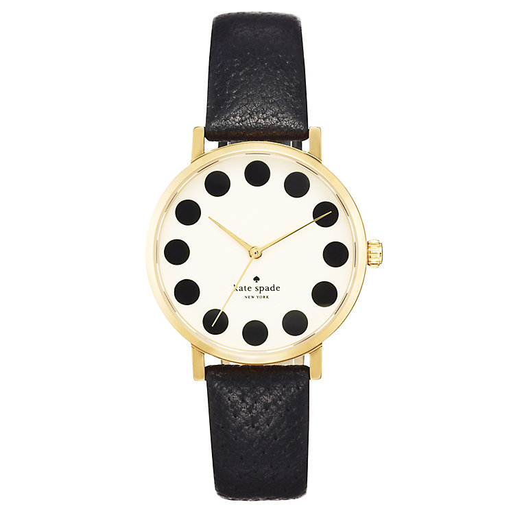 Kate Spade Metro Ladies' Gold Tone Strap Watch - Product number 4832523