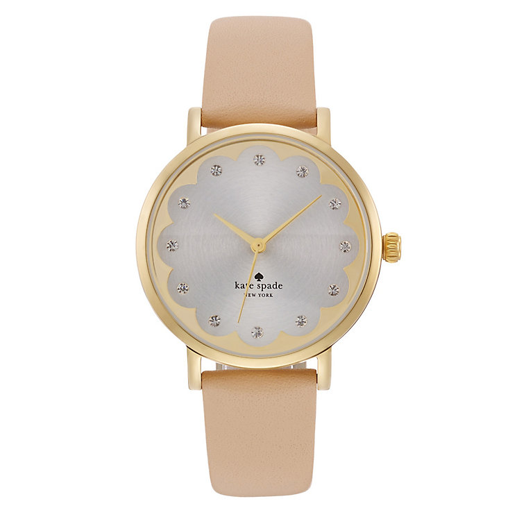 Kate Spade Metro Ladies' Gold Tone Strap Watch - Product number 4832698