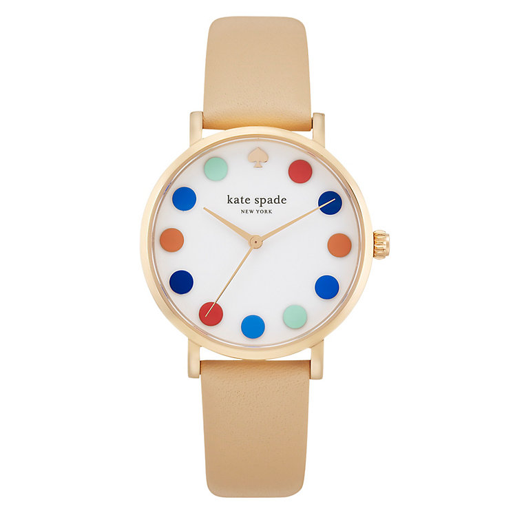 Kate Spade Metro Ladies' Rose Gold Tone Strap Watch - Product number 4832701