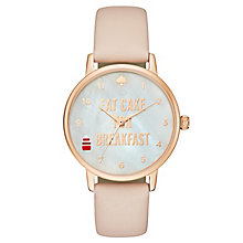 Kate Spade Metro Ladies' Rose Gold Tone Strap Watch - Product number 4832736